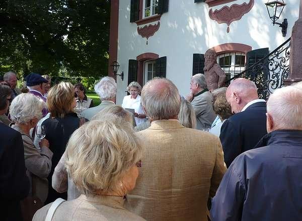 Gartenkundlicher und kunstgeschichtlicher Sommerausflug zur Villa Langmatt in Baden